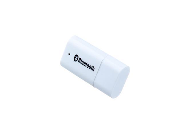 Patazon White USB Bluetooth 3.5mm Stereo Audio Music Receiver Adapter for Speaker iPhone Mp3