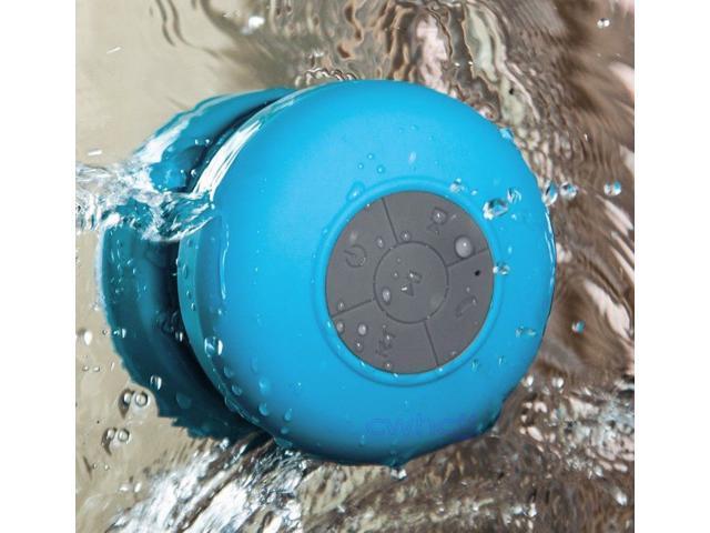 Waterproof Wireless Bluetooth 3.0 Mini Shower Speaker & Handsfree Microphone for iPhone 4S/5/5S/5C/6/6 plus Samsung Galaxy ... - OEM