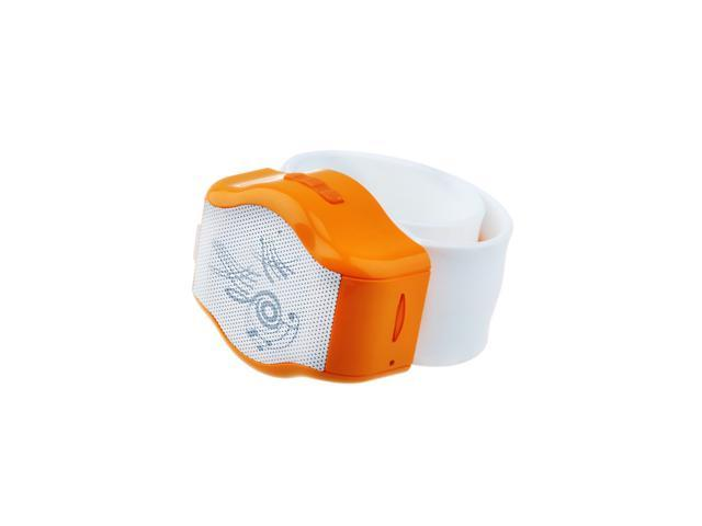 Bluetooth 3.0 Sport Watch Handsfree Phone Call Stereo Speaker with Mic Orange Gift for iPhone 4S, 5, 5S, 5C, Sony Ericsson ... - OEM
