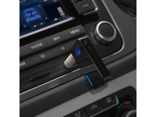 AD2P Bluetooth 3.0 Music Audio Music Stereo Receiver with Hands-free Function for Car AUX IN Home Stereo Speaker iPhone 5 ... - OEM
