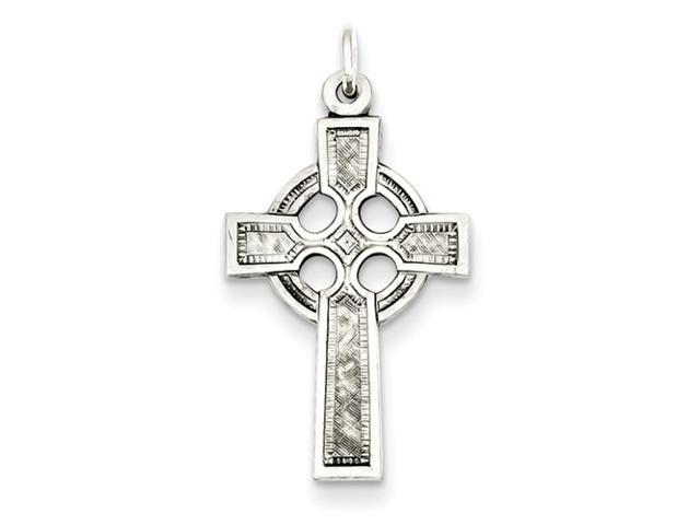 Sterling Silver Celtic Cross Charm.