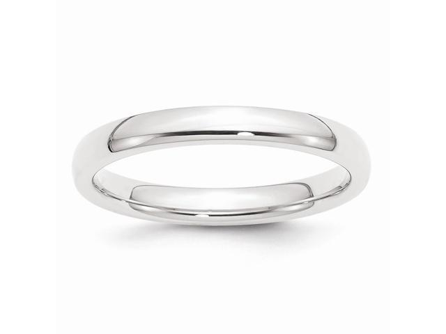 950 Platinum 3mm Comfort-Fit Wedding Band