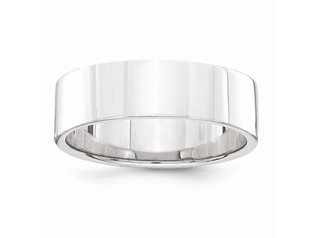 Palladium Flat Comfort Fit 6.00mm Engravable Band