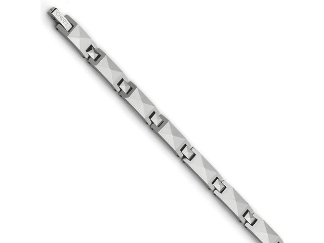 Tungsten Polished Bracelet (8.5in long)