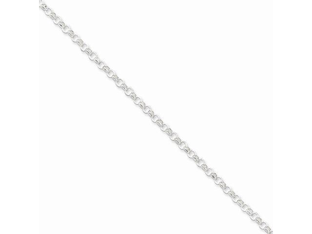 Sterling 20in Silver 3.0mm Belcher Light Necklace Chain