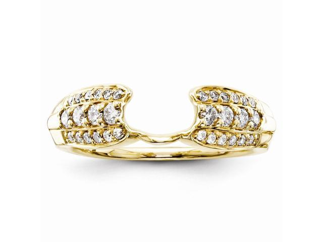 14k Yellow Gold Diamond Ring Wrap (Color H-I, Clarity SI2-I1)