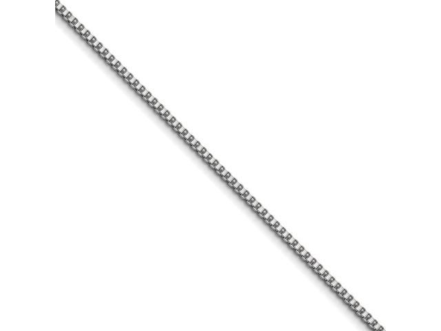Stainless Steel 3.2mm 22in Box Chain (22in long)