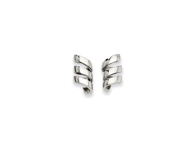 Stainless Steel Earrings (0.8IN x 0.3IN )