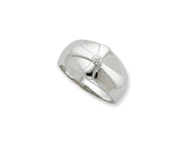 Sterling Silver Purity Men's Ring