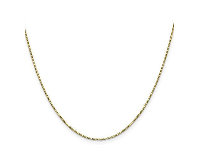 10k Yellow Gold 9in .90mm Box Chain Bracelet