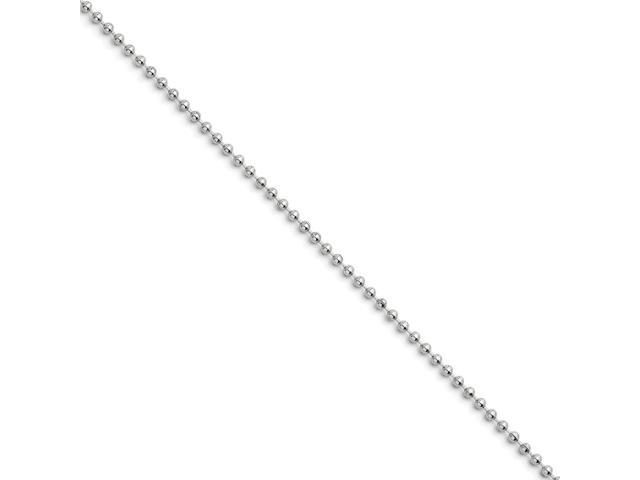 Stainless Steel 2.4mm 22in Ball Chain (22in long)