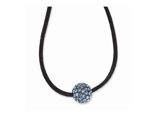 Black-plated Blue Crystal Fireball on 16