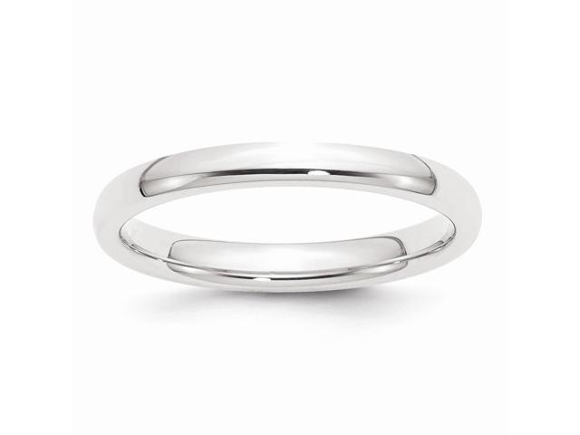 950 Platinum 2.5mm Comfort-Fit Wedding Band