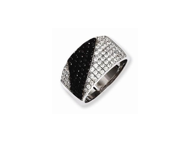 Sterling Silver & Synthetic CZ Embers Ring