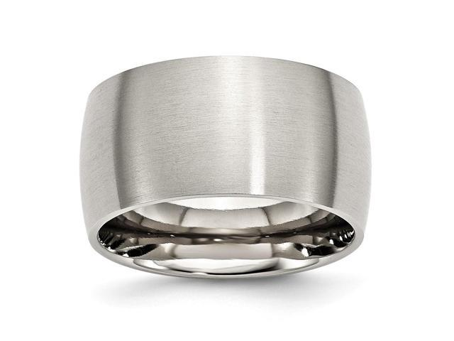 Stainless Steel 0.4IN Satin Engravable Band (38.9IN x 0.4IN)