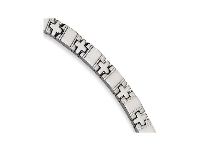 Titanium Polished Bracelet (8.25in long)
