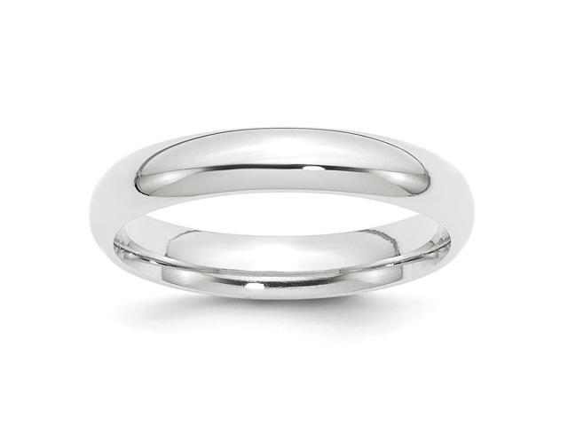 950 Platinum 4mm Comfort-Fit Wedding Engravable Band