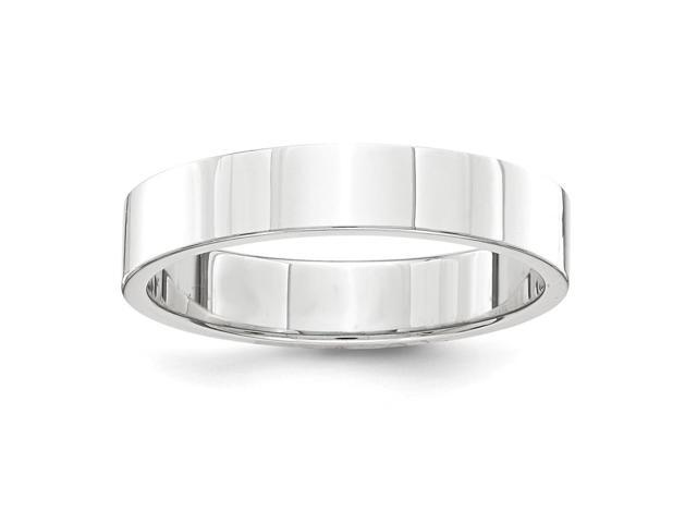 Palladium Flat Comfort Fit 4.00mm Engravable Band
