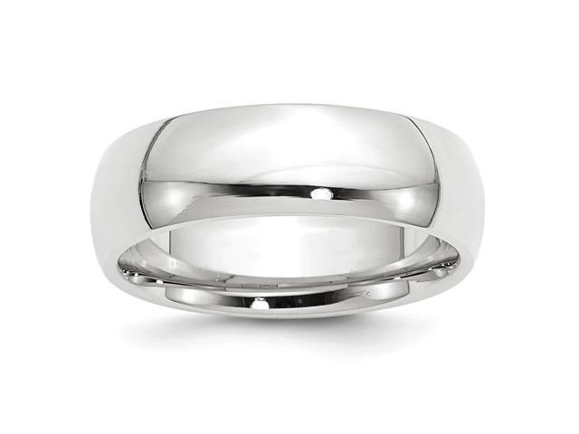 Palladium Medium Weight Comfort Fit 7.00mm Engravable Band