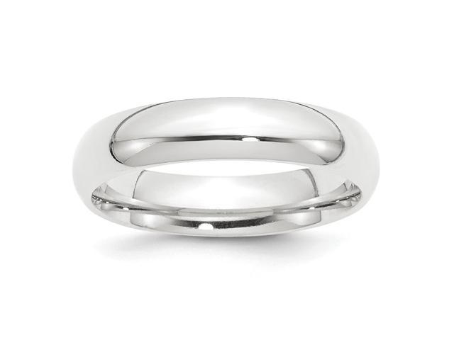 950 Platinum 5mm Comfort-Fit Wedding Engravable Band