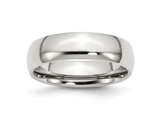 Stainless Steel 6mm Engravable Polished Band