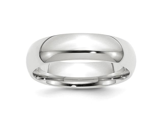 Palladium Heavy Weight Comfort Fit 6.00mm Engravable Band