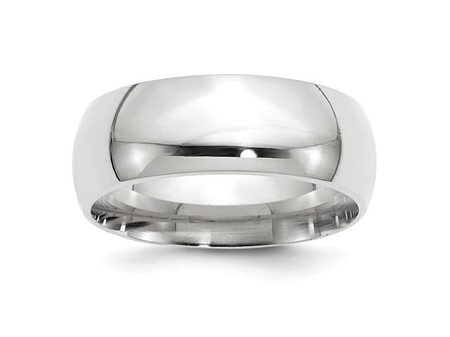 Palladium Heavy Weight Comfort Fit 8.00mm Engravable Band