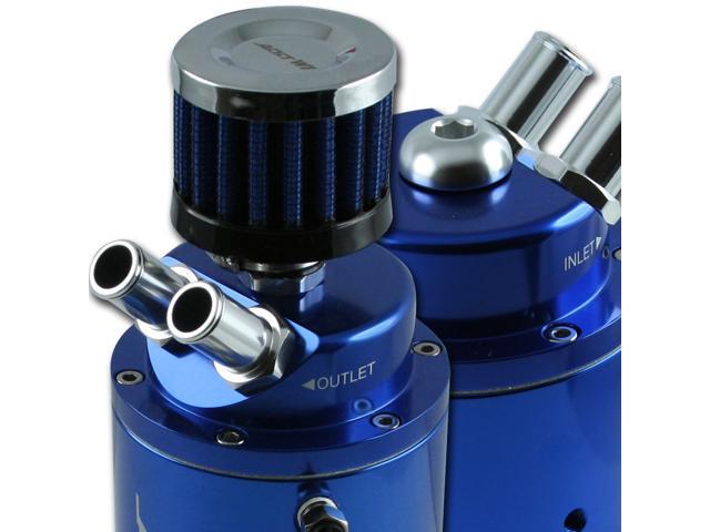 ADD W1 Blue Oil Breather Catch Tank Can