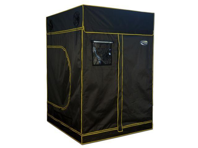 """Large Grow Tent 60""""x60""""x84"""" Hydroponics Grow Tent 5'X5'X7' 100% Reflective Mylar"""