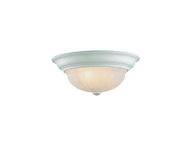 Dolan Designs Richland 2 Light Flush Mount Classic White - 522-32