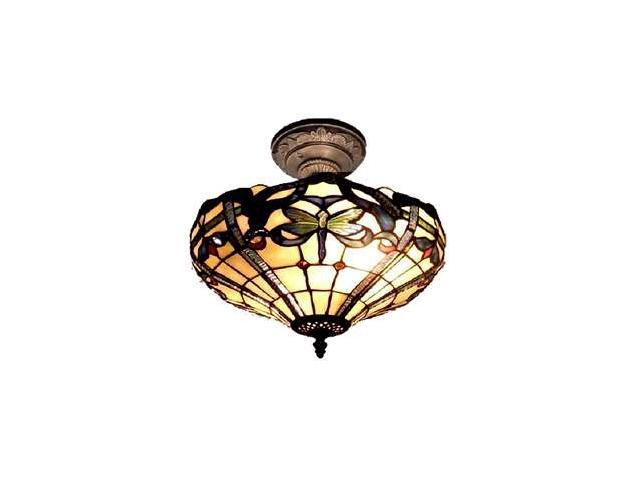 Dale Tiffany Cabrini Semi Flush Mount - TH12151