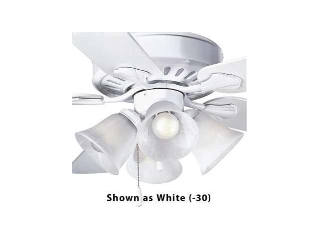 Progress Lighting Alabaster Glass Four-Light Fan Light Kit - P2616-09
