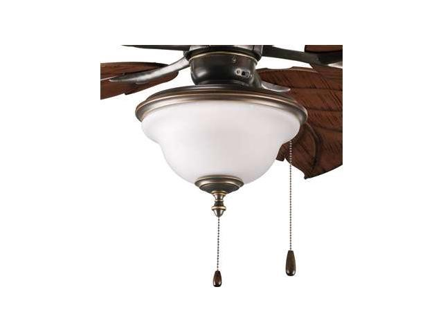 Progress Lighting Ashmore Two-Light Ceiling Fan Light Kit - P2636-20