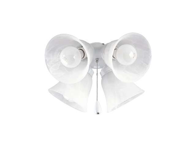 Progress Lighting Airpro Four-Light Fan Light Kit - P2610-30