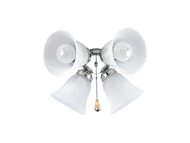 Progress Lighting Airpro Four-Light Fan Light Kit - P2610-09