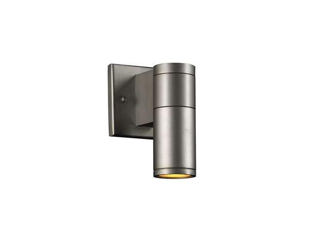 PLC Lighting Troll-I 1 Light Outdoor Fixture in Aluminum - 8022-AL