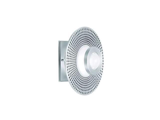 CSL Lighting Vertigo 1 Light Wall / Flush Mount in Satin Aluminum - SS1002-SA