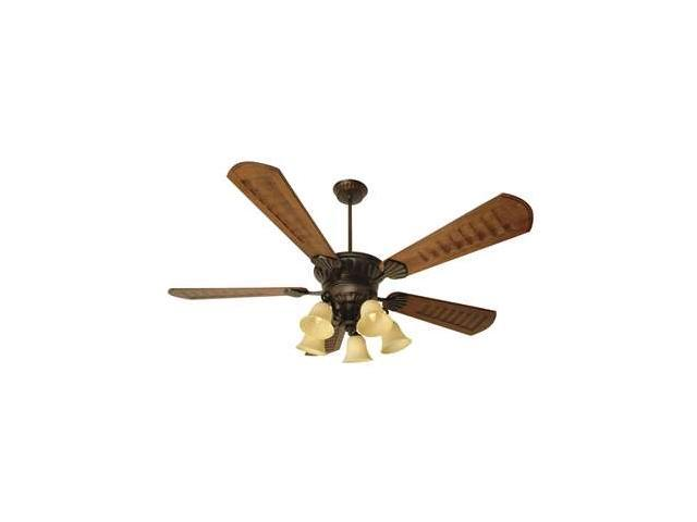 "Craftmade Ceiling Fan, Oiled Bronze Epic w/ 70"" Blades and Light Kit - K10685"