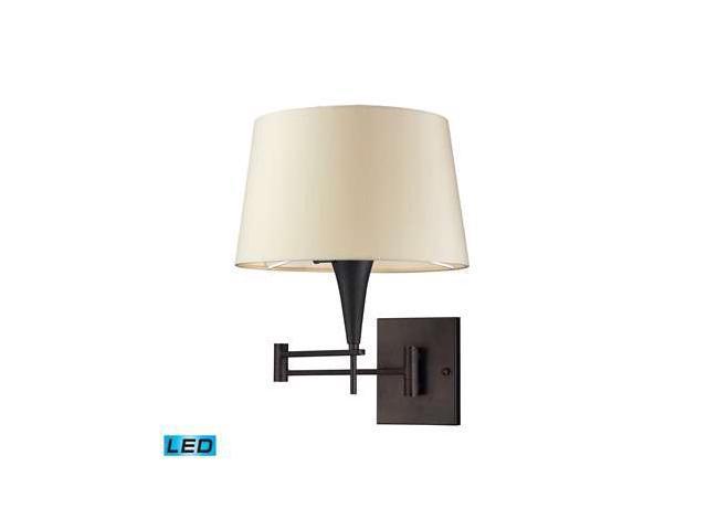 Elk Lighting 1- Light Swing Arm in Aged Bronze - 10292-1-LED