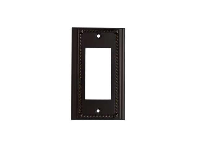 Elk Lighting Brass End Switch Plate Click plate - 2502AGB