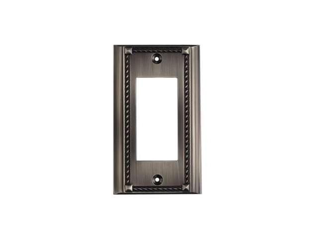 Elk Lighting Antique Platinum Single Click plate - 2502AP