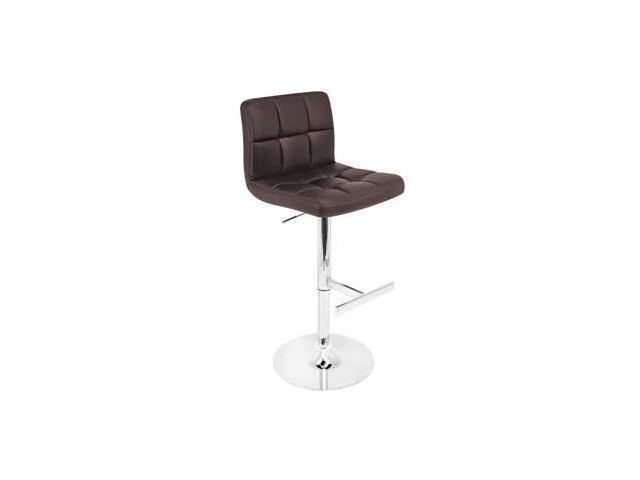 LumiSource Lager Bar Stool in Brown - BS-TW-LAGERBN
