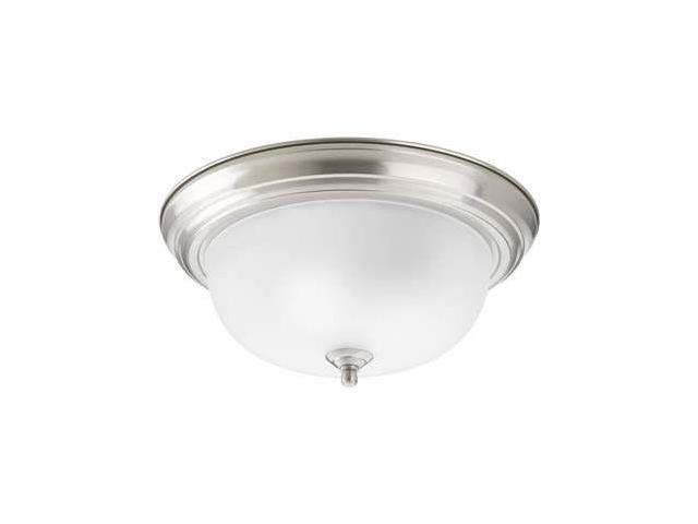 Progress Lighting 2-Light Close-To-Ceiling in Brushed Nickel - P3925-09ET