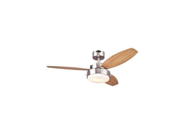 Westinghouse Alloy Two-Light 42-Inch Three-Blade Indoor Ceiling Fan - 7247300