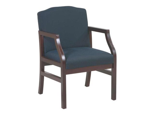 Flash Furniture Hercules Series Crown Back Stacking Banquet Chair With Black Vinyl And 2.5'' Thick Seat - Gold Vein Frame [FD-C01-GOLDVEIN-BK-VY-GG]