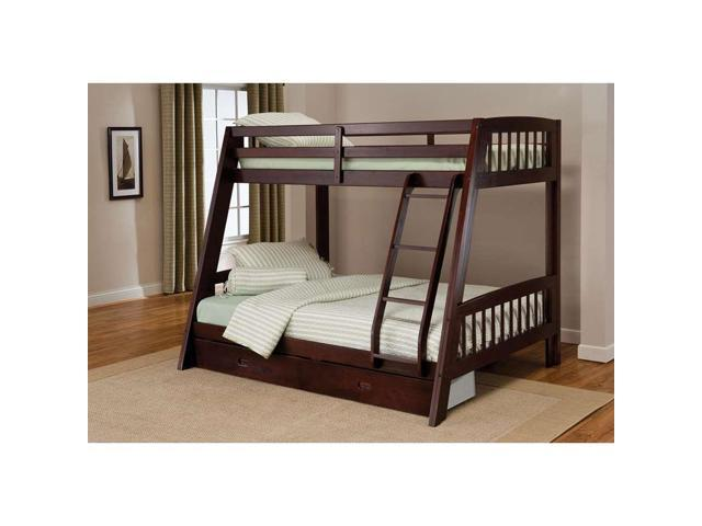 Hillsdale Furniture Rockdale Bunk Bed in Cherry - 1608BB