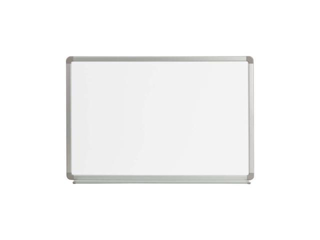 Flash Furniture 3' W X 2' H Magnetic Marker Board [YU-60X90-WHITE-GG]