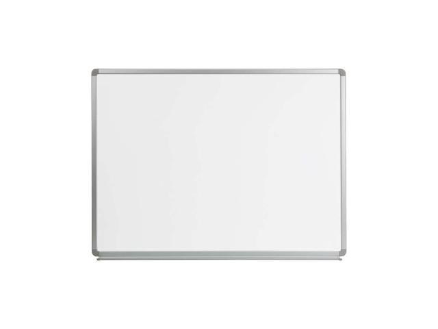 Flash Furniture 4' W X 3' H Magnetic Marker Board [YU-90X120-WHITE-GG]
