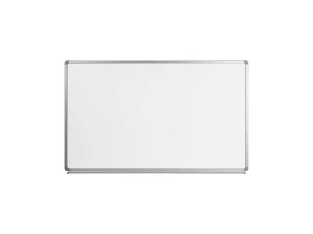 Flash Furniture 5' W X 3' H Magnetic Marker Board [YU-90X150-WHITE-GG]