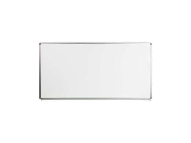 Flash Furniture 6' W X 3' H Magnetic Marker Board [YU-90X180-WHITE-GG]
